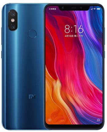 小米8 游戏手机 全面屏 蓝色
