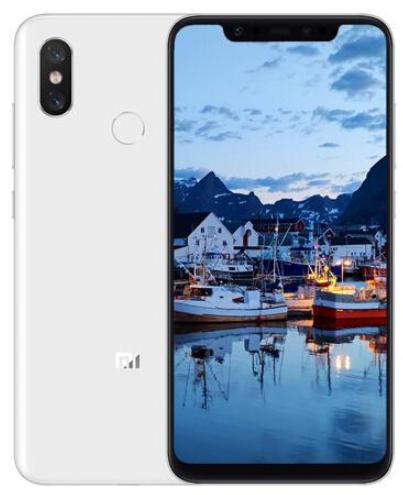 小米8 游戏手机 全面屏 白色