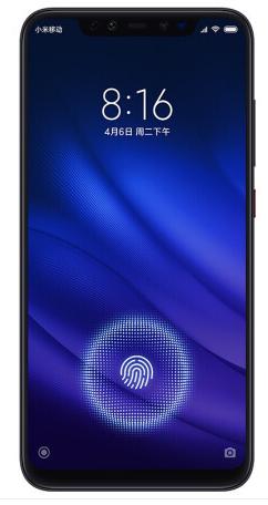 小米8 游戏手机 全面屏 屏幕指纹版