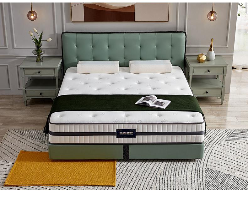 全友家居泰国天然进口乳胶弹簧床垫