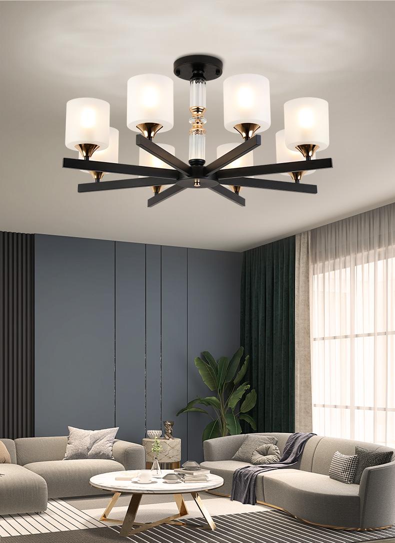雷士照明北欧现代简约客厅灯具