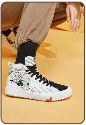 李宁帆布鞋