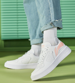 夏季新款白色休闲鞋女士厚底正品透气运动鞋板鞋女鞋
