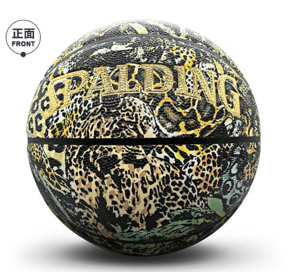 豹纹蛇纹印花7号室内外PU篮球礼物