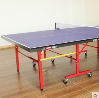 红双喜乒乓球桌室内