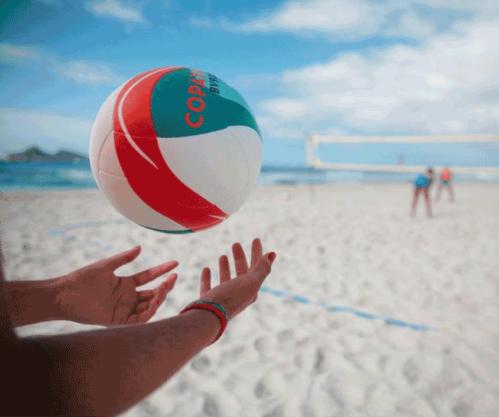 迪卡侬沙滩排球排球