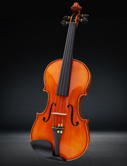 星匠小提琴实木虎纹演奏考级专业乐器