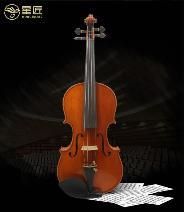 小提琴专业级进口欧料高档纯手工小提琴